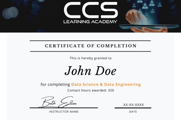 CCSLA Course Completion Certificates (1)