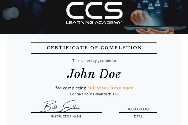CCSLA Course Completion Certificates (2)